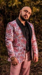 Andres Franco Moda Masculina Flores Estampadas